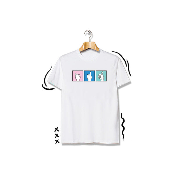 T-shirt Suit Short Sleeve White