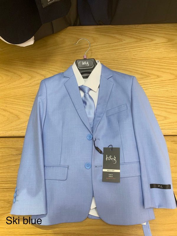 Light blue slim fit