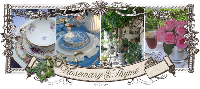 Summer Entertaining In The Garden by Rosemary & Thyme
