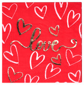 Love Cocktail Napkins/16pk