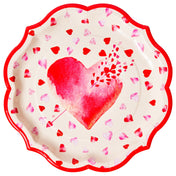 Cupids Bow Paper Dinner Plate/8pk