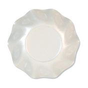 Pearly White Paper Appetizer/Dessert Bowls/10pk