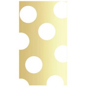 Gold Dot Paper Guest Towel/16pk