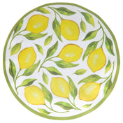 Lemon Drop Wavy Paper Dinner Plate/8pk