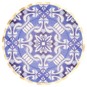 Moroccan Nights Wavy Paper Dinner Plate/8pk