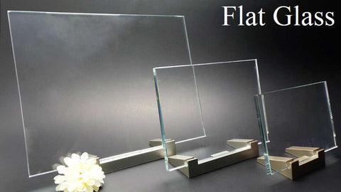 Flat Glass - 3D laser etched photo crystal