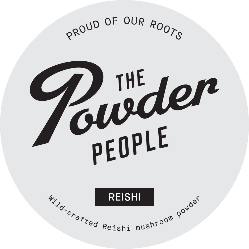 WILD-CRAFTED REISHI MUSHROOM POWDER