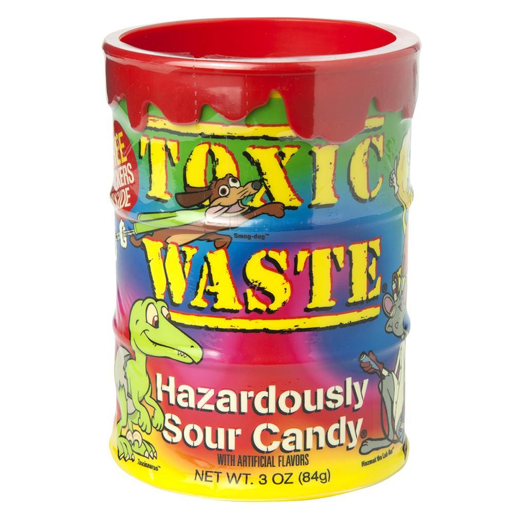 Toxic Waste Tie-Dye Coin Jar | Lolli and Pops