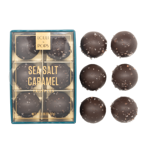 Lolli & Pops Sea Salt Caramel Truffles