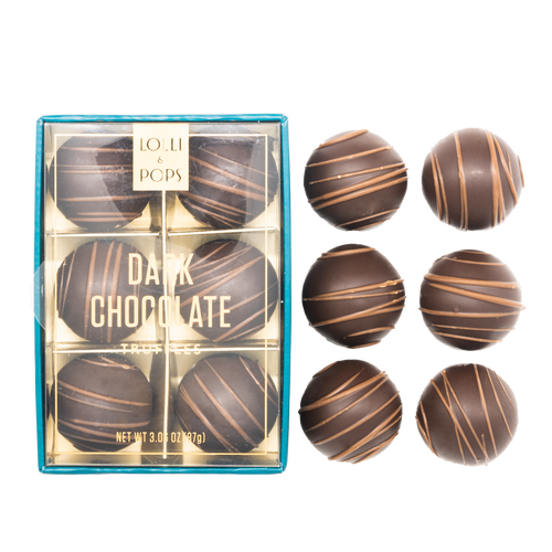Lolli & Pops Dark Chocolate Truffles