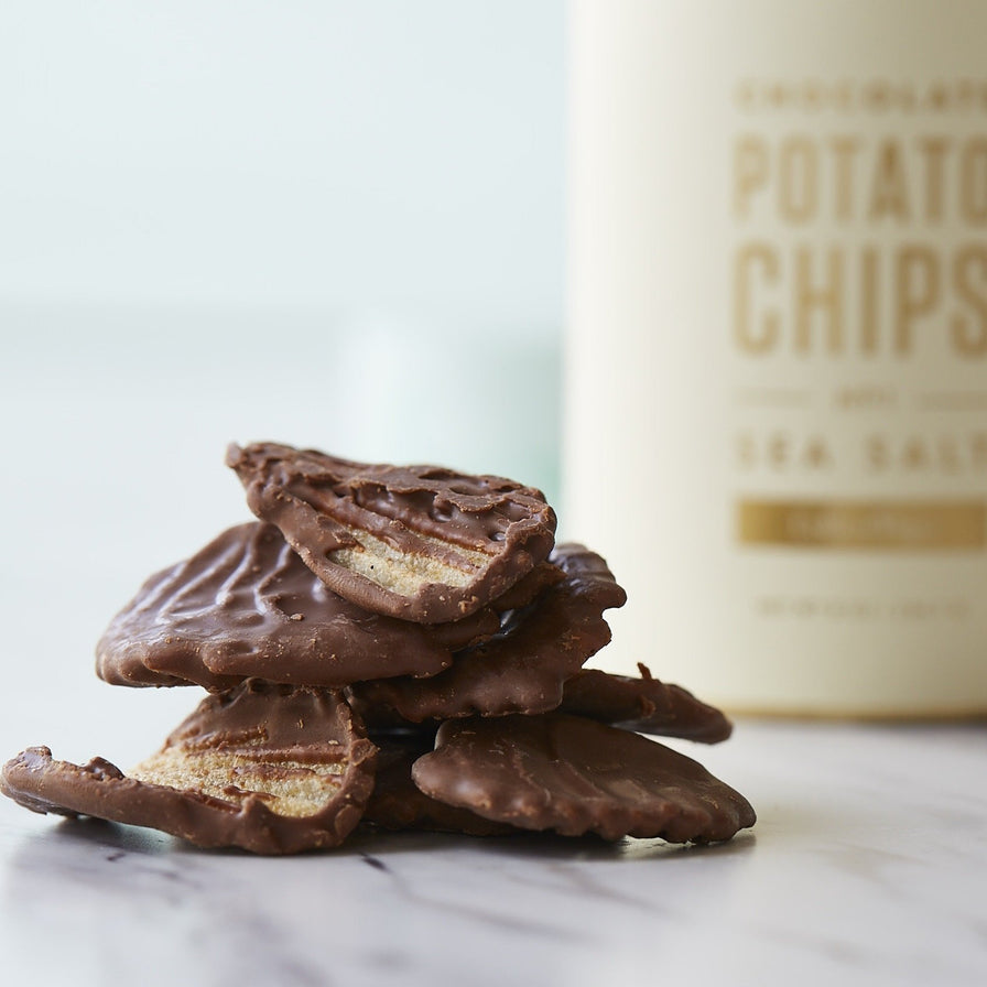Chocolate Sea Salt Potato Chips