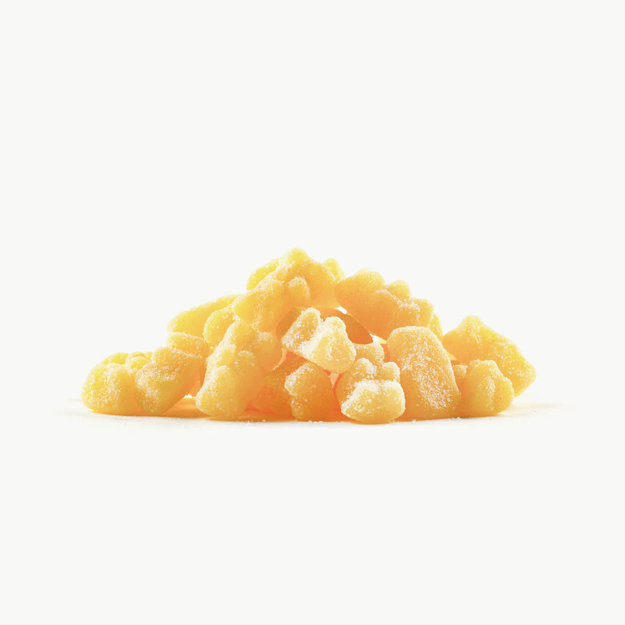 Pina Colada Sour Gummy Bears - 1 pound