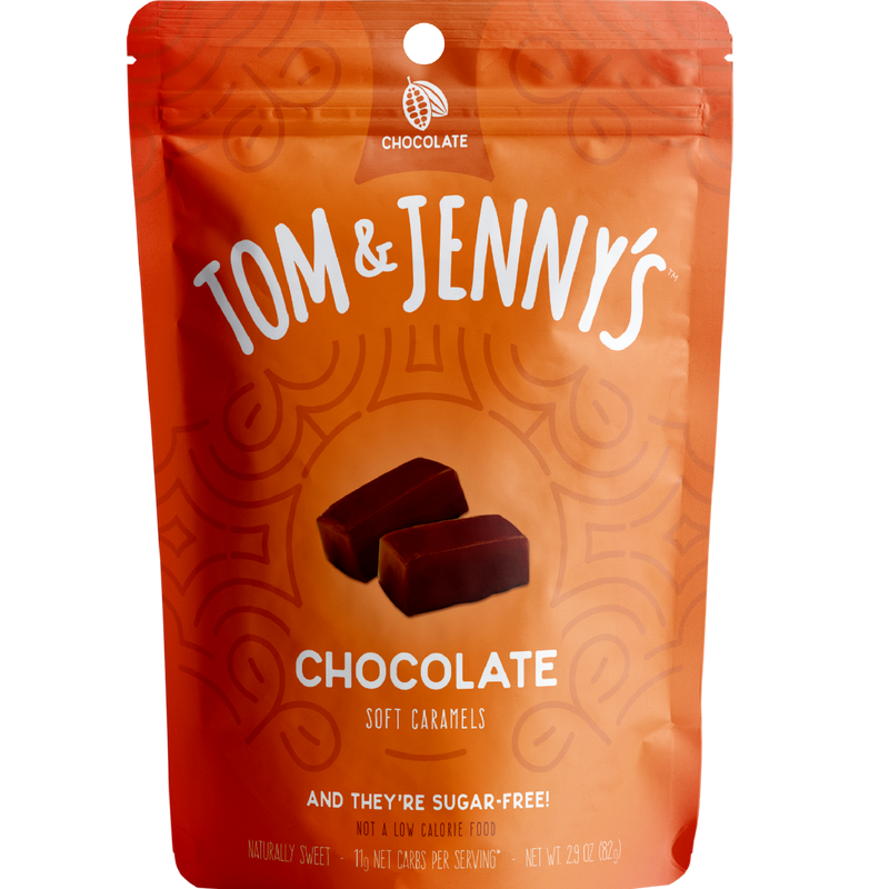 Tom and Jenny Sugar Free Chocolate Caramel