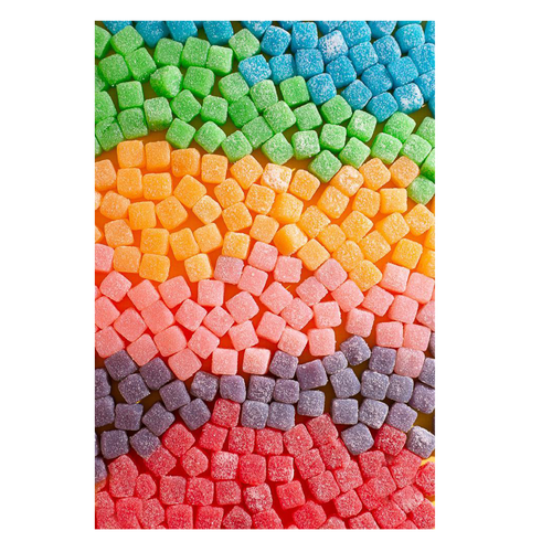 Warhead Sour Chewy Cubes