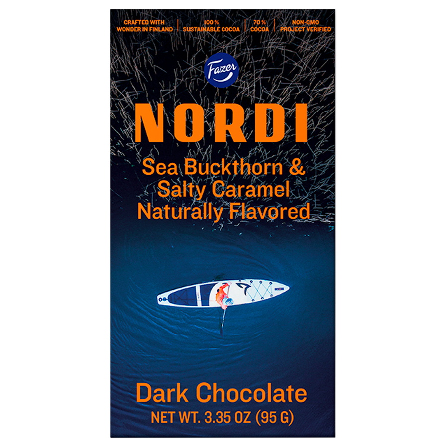 NORDI Sea Buckthorn & Salty Caramel Bar