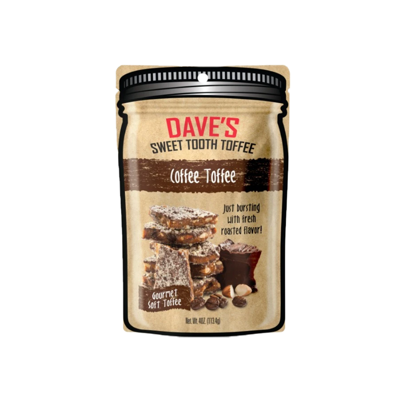 Dave's Sweet Tooth Coffee Toffee