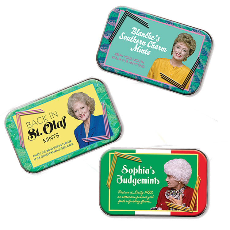 Golden Girls Mint Tins