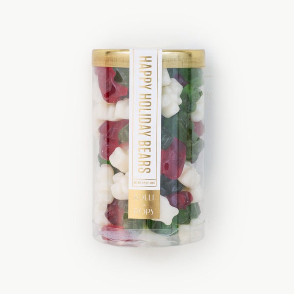 Holiday Gummi Bear Tube