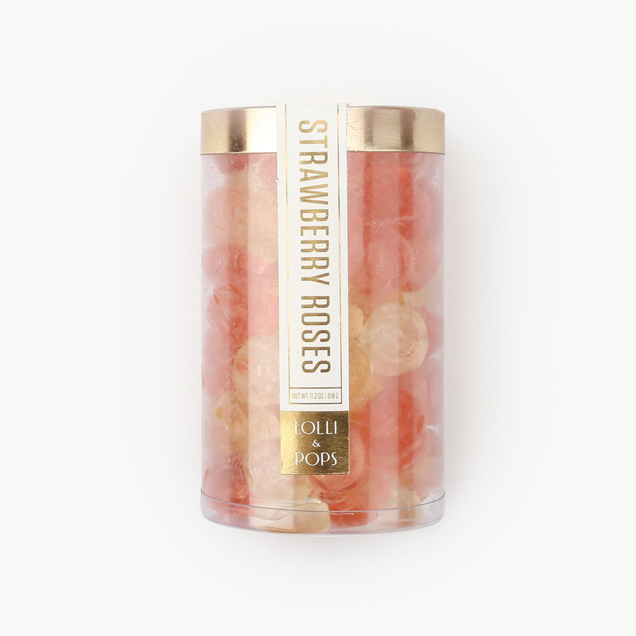 Strawberry Roses Gummi Tube