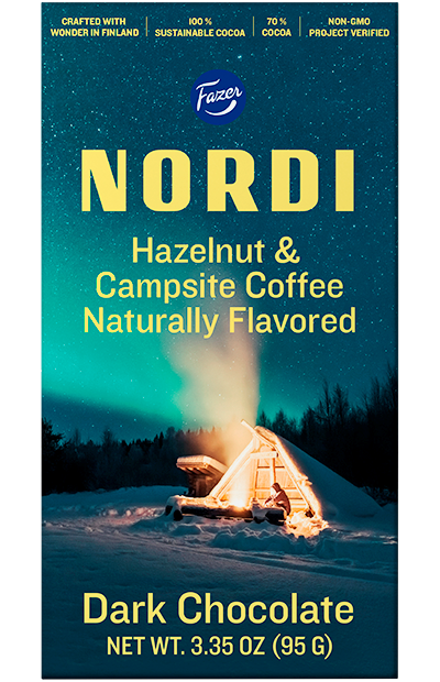 NORDI Hazelnut & Campsite Coffee Bar