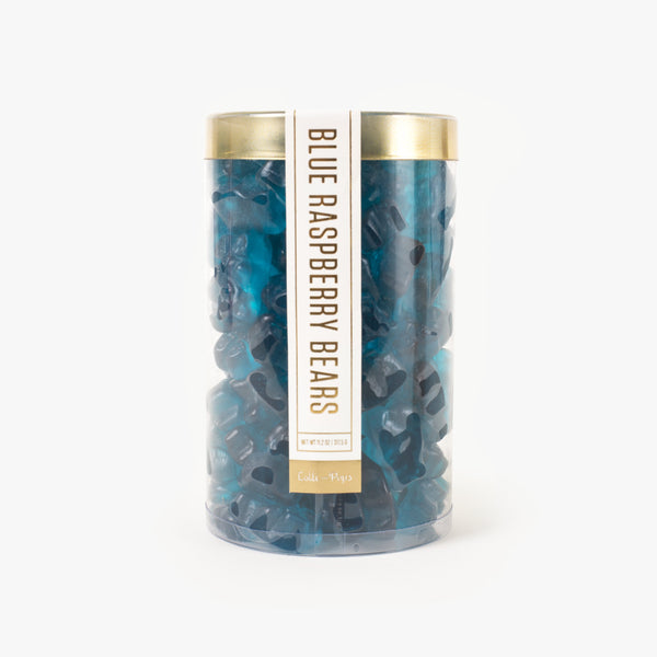 Blue Raspberry Gummi Bear Tube