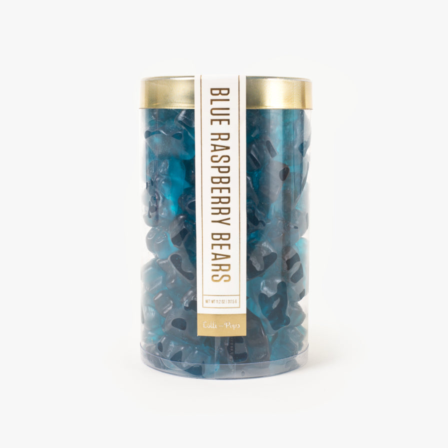 Blue Raspbery Gummi Bear Tube