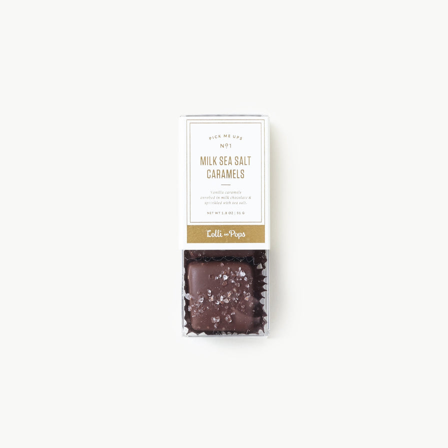 3-Piece Milk Chocolate Sea Salt Caramels