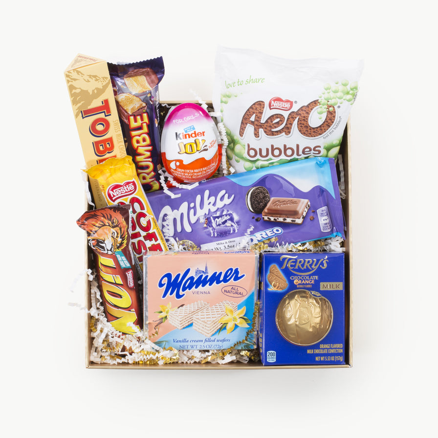Classic European Treats Gift Box