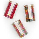 Sweet and Sour Fruity Gummi Bear Tubes -- 3-pack