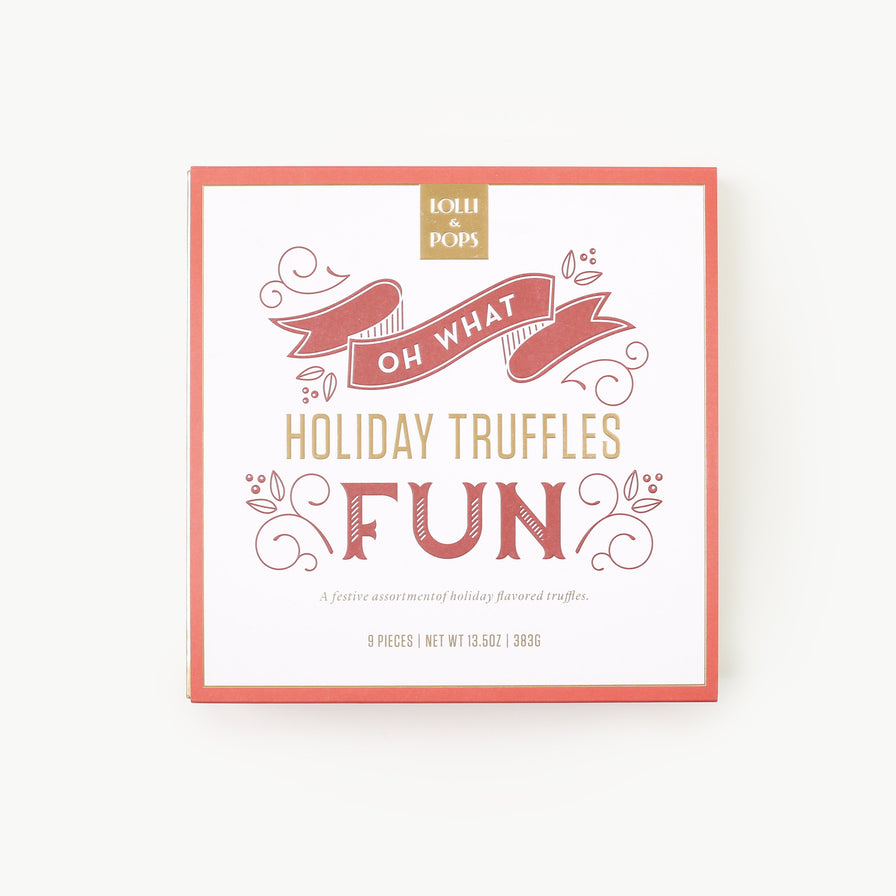 Oh What Fun Holiday Truffles