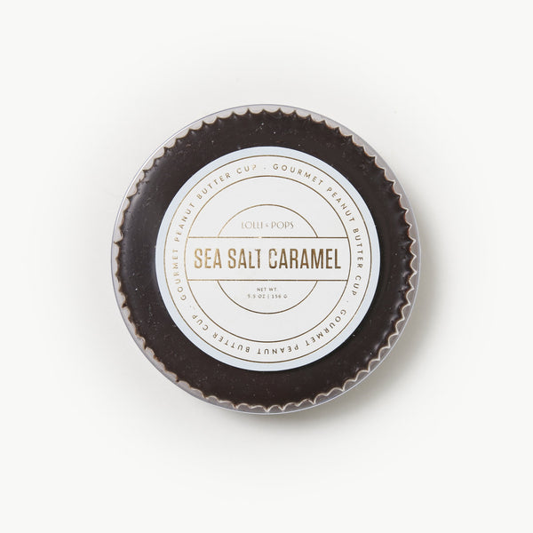 Sea Salt Caramel Peanut Butter Cup