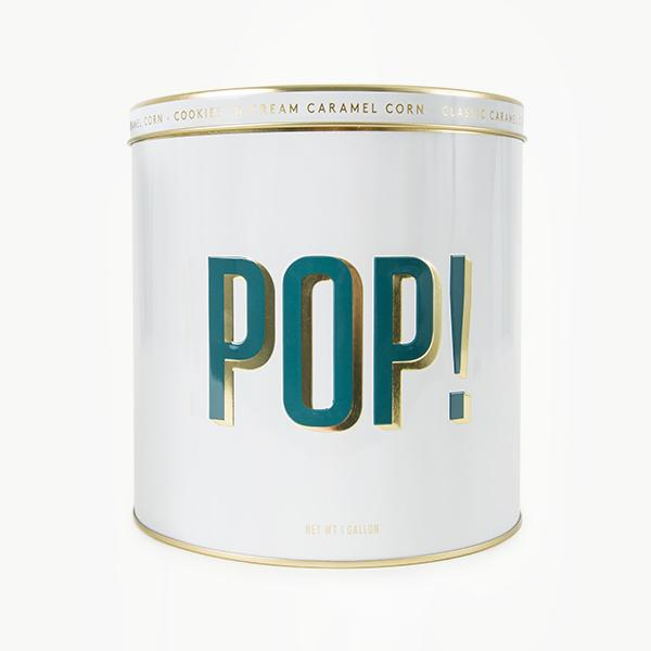 Holiday Popcorn Pop! Tin