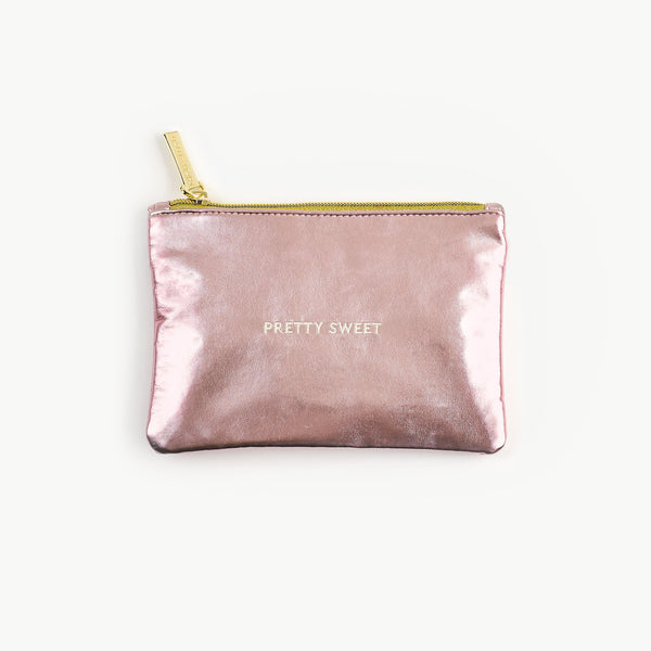 Lolli & Pops Metallic Make-up Pouch