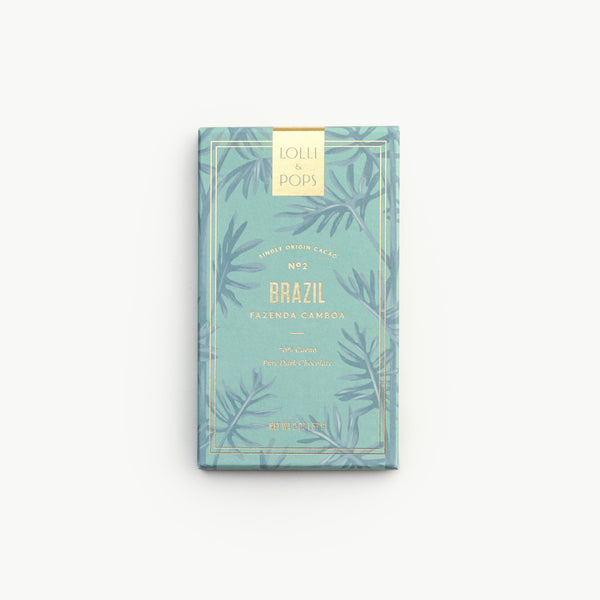 Single Origin Chocolate Bar - Brazil