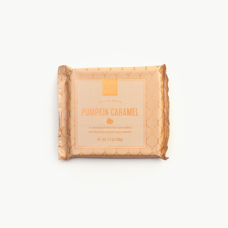 Pumpkin Caramel Square Bar