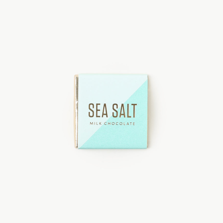 Chocolate Tile - Sea Salt Milk Chocolate (5 Loose Squares)