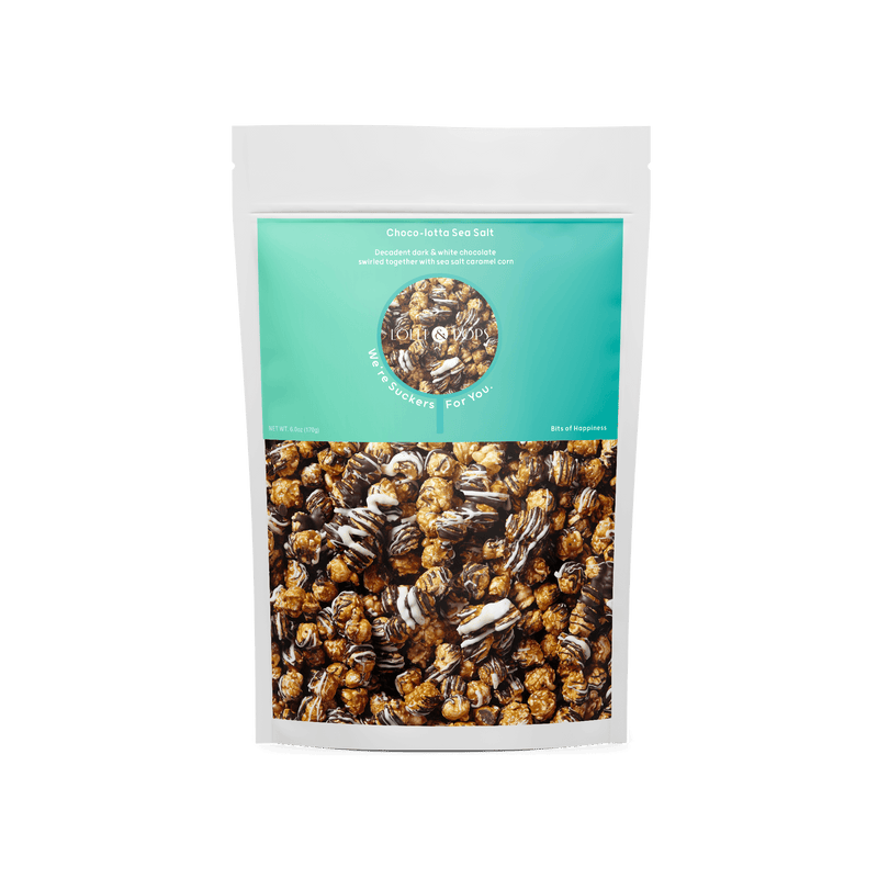 Lolli & Pops  Choco-lotta Sea Salt Caramel Corn