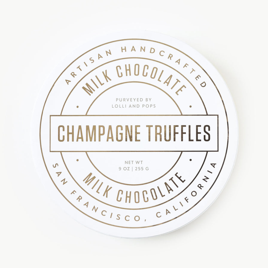 Milk Chocolate Champagne Truffles (Large)