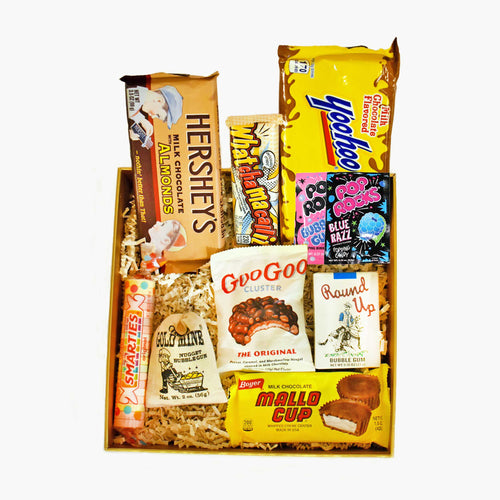 Retro Never Outdated Candy Gift Box