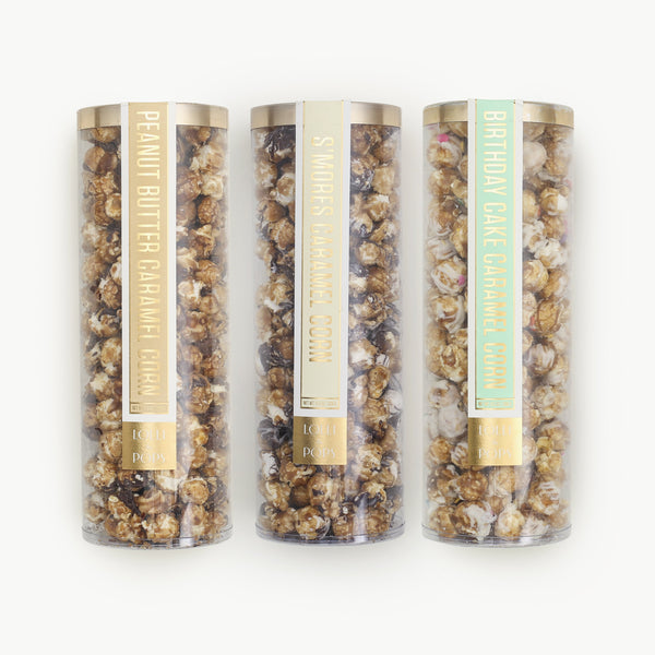 Popcorn Sweetness (set of 3)