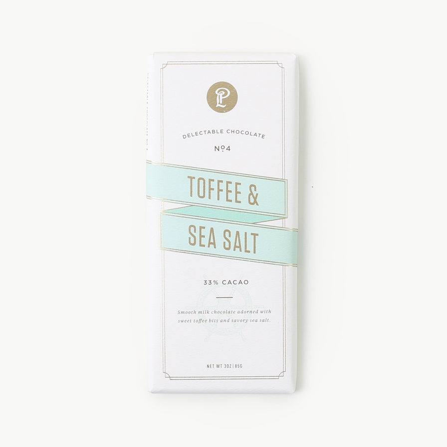 Toffee Sea Salt Signature Bar