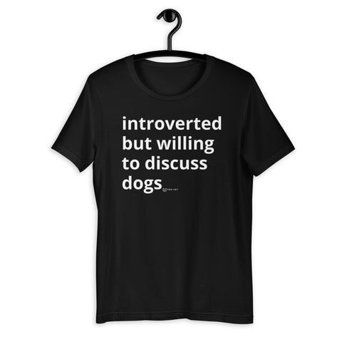 Introverted but...dogs?!