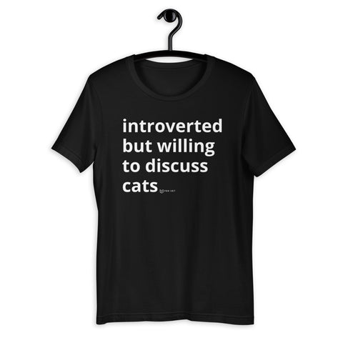 Introverted but...cats?!