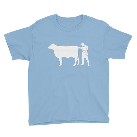 Youth Short Sleeve Cow Vet Shirt