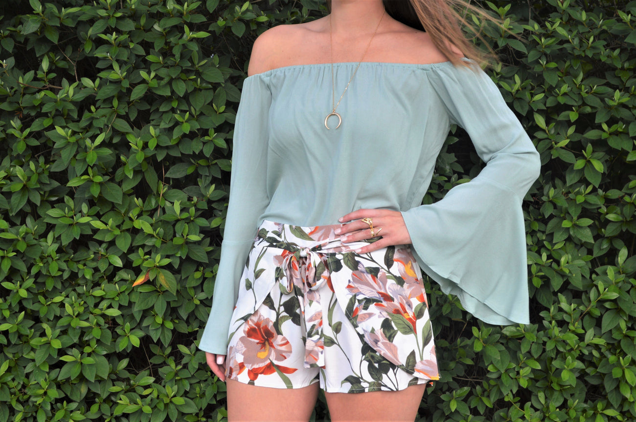 Dusty Mint OTS Top