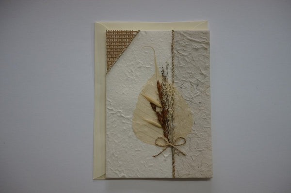 Wheat Leaf Dried Flower Envelope