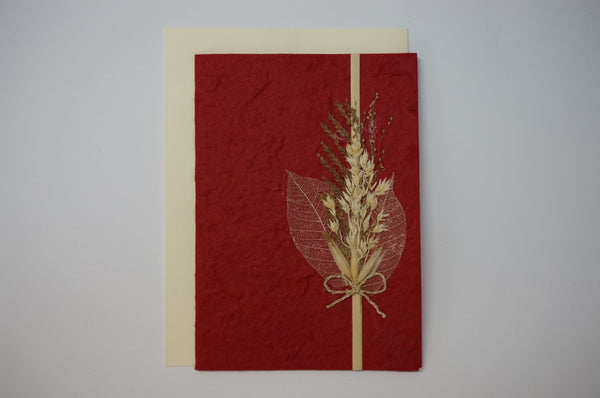 Two Leaves and Wheat Envelope