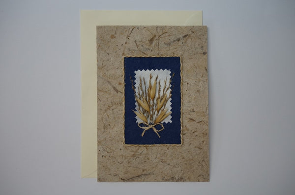 Wheat Flower Bouquet Envelope