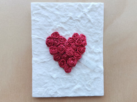 Mini Card: Heart Wreath (900)