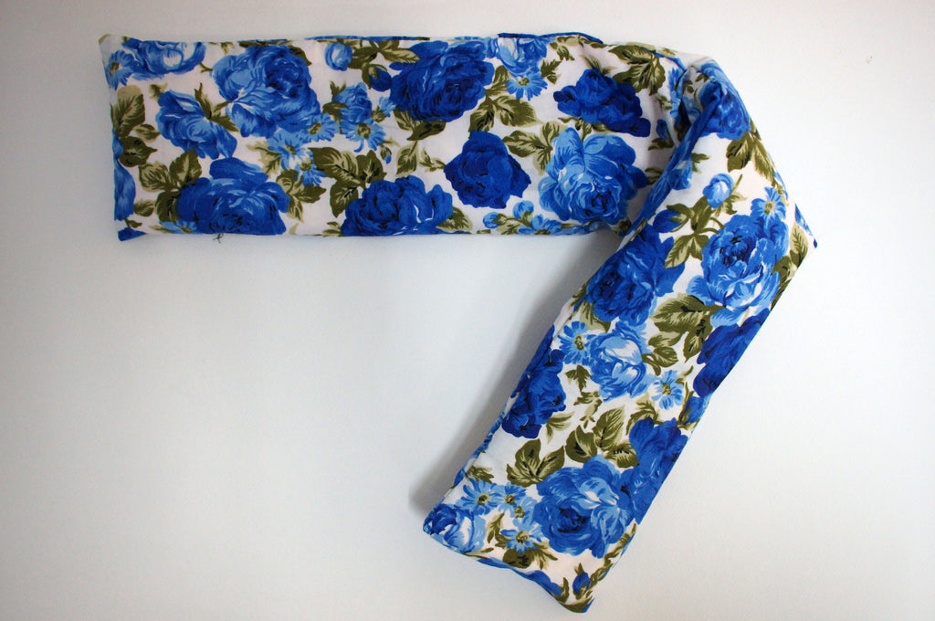 Heat Pack Long (Blue Roses)